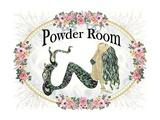 Powder Room Lovely Mermaid