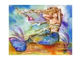 Pretty Blue Mermaid