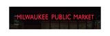 Milwaukee Public Market Neon