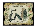 Powder Room Mermaid Papier Photo par Sylvia Pimental