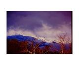 Snow on Mount Diablo from Danville