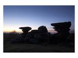 Brimham Rocks Silhouettes
