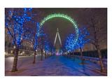 The Colourful London Eye