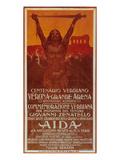 Verdi Opera Aida in Verona Reproduction d'art