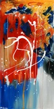 Étincelles Toile Murale Géante par Carole St-Germain