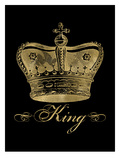 Crown King Golden Black