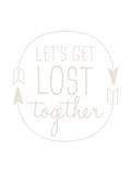 Beige Let's Get Lost