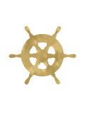 Ship Wheel Golden White