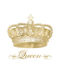 Crown Queen Golden White