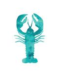 Mint Lobster Reproduction d'art par Jetty Printables