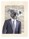 Koala Suit Reproduction d'art par Matt Dinniman