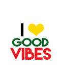 Quote I heart good vibes