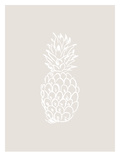 Beige White Pineapple