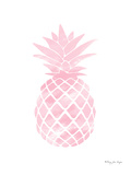 Pink Watercolor Pineapple