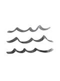 Black Waves Reproduction d'art par Jetty Printables