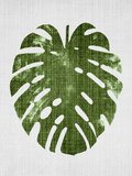 Tropical Leaf 1 Reproduction d'art par LILA X LOLA