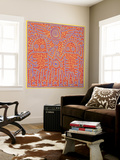 Untitled Pop Art Reproduction taille murale par Keith Haring