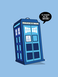 Bigger on the Inside - Cute Tardis