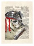 Swabby The Seal Reproduction d'art par Matt Dinniman