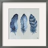 Indigo Feathers I