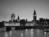 Big Ben and Houses of Parliament, London, England Reproduction d'art par Jon Arnold