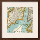 Vintage New York Map IV