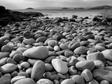 Stony Beach on Knoydart Peninsula  Western Scotland