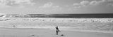 Surfer Standing on the Beach  North Shore  Oahu  Hawaii  USA