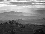 Landscape  San Gimignano  Tuscany  Italy