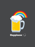 Happiness - Cute Beer