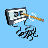 Back in the Day - Retro Cassette Tape
