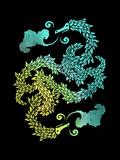 Dragons Blow - Chinese Dragon Yin Yang