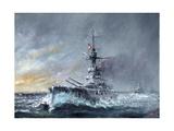 HMS Iron Duke  'Equal Speed Charlie London' Jutland 1916  2015