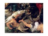 Hippopotamus and Crocodile Hunt  circa 1615-16