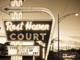 USA  Missouri  Route 66  Springfield  Rest Haven Court Motel