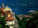 Sanctuary of Madonna del Sasso  Locarno and Lago Maggiore  Locarno  Ticino  Switzerland