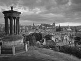 Stewart Monument  Calton Hill  Edinburgh  Scotland