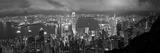 Hong Kong, View from Victoria Peak, China Papier Photo par Gavin Hellier