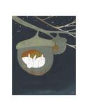 Acorn, Sweet Acorn Reproduction d'art par Kristiana Pärn