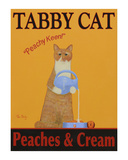 Tabby Cat Peaches & Cream