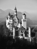 Neuschwanstein Castle  Fussen Bavaria  South Germany