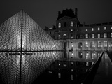 Musee Du Louvre and Pyramide  Paris  France