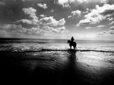 Horseback Riding in the Tide