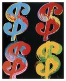 $4  1982 (blue  red  orange  yellow)