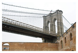 Brooklyn Bridge (brick walls)