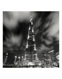 Burj Kahlifa at Night  Study 1  Dubai  UAE