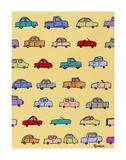 Cars Yellow