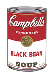 Campbell's Soup I: Black Bean  1968
