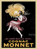 Cognac Monnet, 1927 Reproduction d'art par Leonetto Cappiello