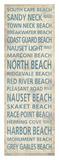 Cape Cod Beach Towns II